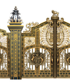 mẫu cổng inox đẹp 1