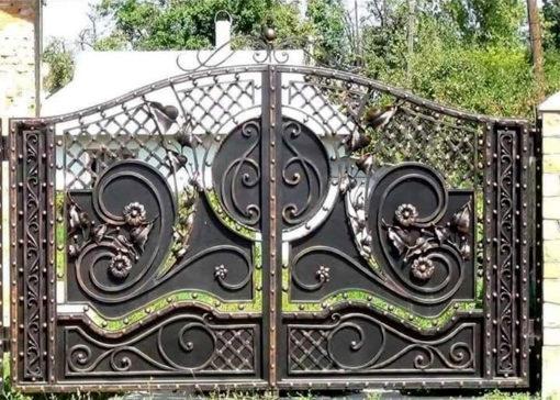 mẫu cổng inox đẹp 10