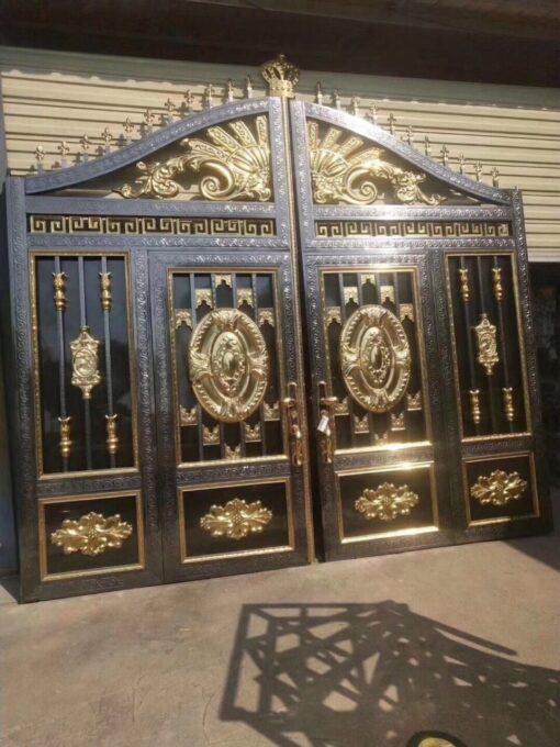 mẫu cổng inox đẹp 109
