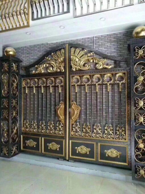 mẫu cổng inox đẹp 110