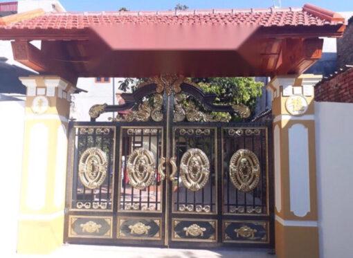 mẫu cổng inox đẹp 113