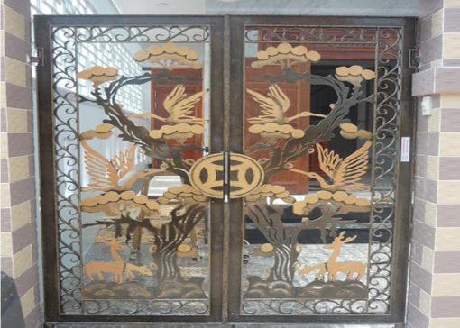 mẫu cổng inox đẹp 12