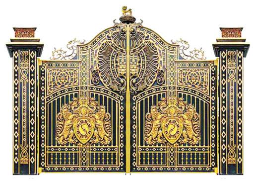 mẫu cổng inox đẹp 16