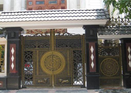 mẫu cổng inox đẹp 17