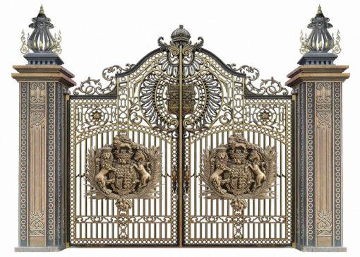 mẫu cổng inox đẹp 18