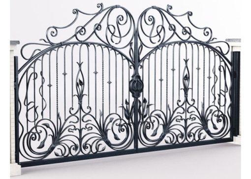 mẫu cổng inox đẹp 2