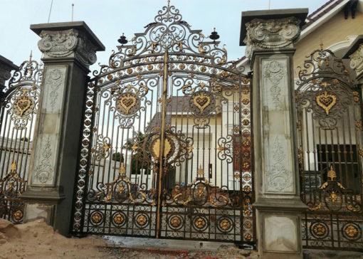 mẫu cổng inox đẹp 21