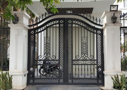 mẫu cổng inox đẹp 22
