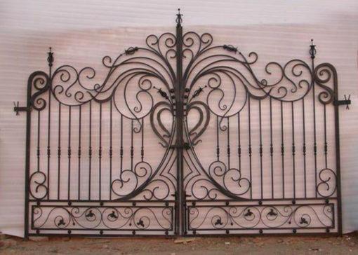mẫu cổng inox đẹp 24