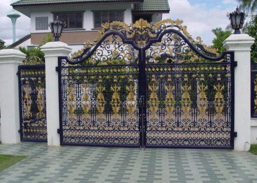 mẫu cổng inox đẹp 27