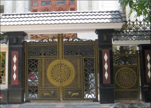 mẫu cổng inox đẹp 34