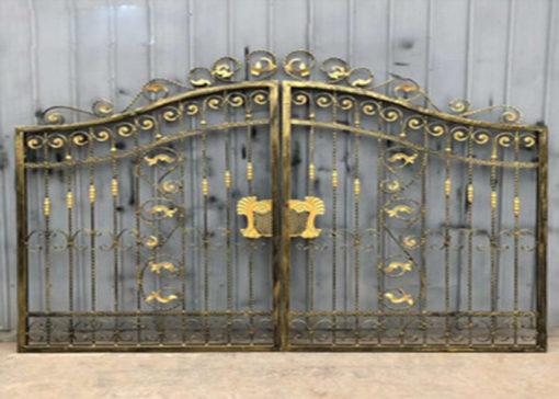 mẫu cổng inox đẹp 35