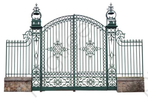 mẫu cổng inox đẹp 36