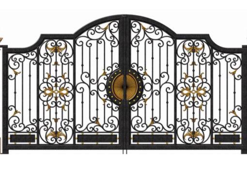mẫu cổng inox đẹp 39
