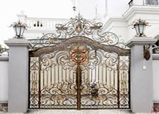 mẫu cổng inox đẹp 47
