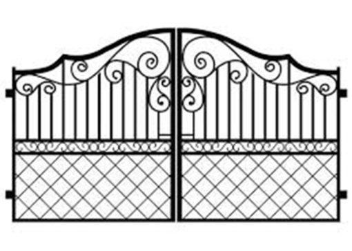 mẫu cổng inox đẹp 56