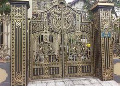 mẫu cổng inox đẹp 59
