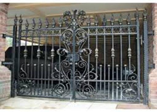 mẫu cổng inox đẹp 61