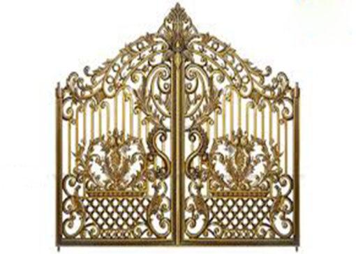 mẫu cổng inox đẹp 62