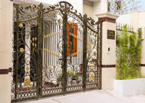 mẫu cổng inox đẹp 63