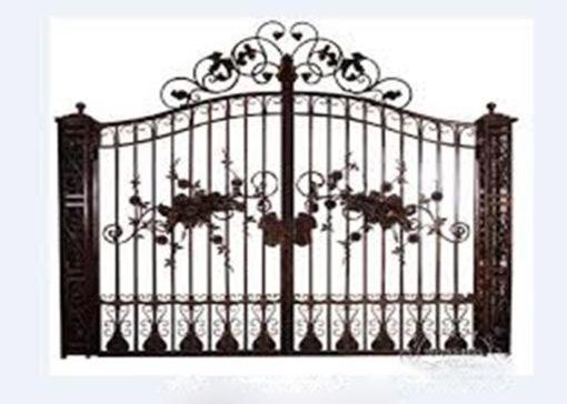 mẫu cổng inox đẹp 66