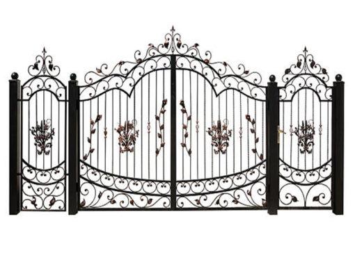 mẫu cổng inox đẹp 67