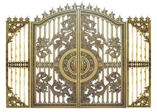 mẫu cổng inox đẹp 73