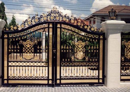 mẫu cổng inox đẹp 78