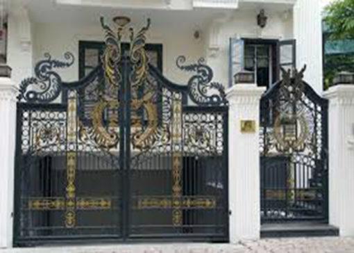 mẫu cổng inox đẹp 83