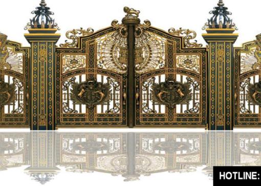 mẫu cổng inox đẹp 84