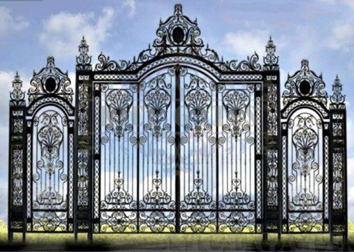 mẫu cổng inox đẹp 87