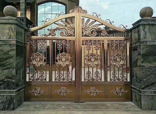 mẫu cổng inox đẹp 91