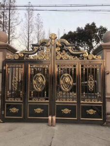 mẫu cổng inox đẹp 93